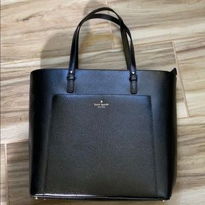 Black Leather Kate Spade Purse